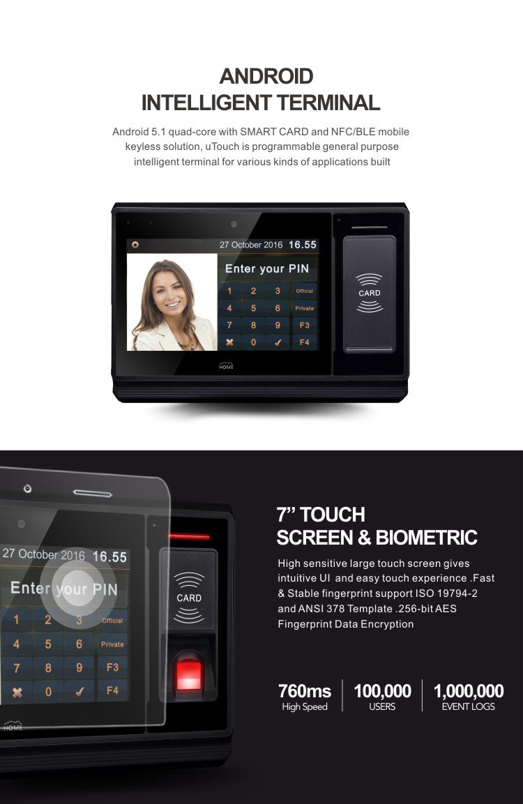 Real Time Biometric Attendance System Manufacturers and